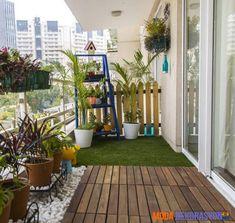 Bahçe Güzelliğinde Balkon Dekorasyon Fikirleri | Moda Dekorasyon