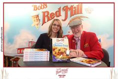 Hannah, our World Trade Center Harrisburg's Trade Specialist met with Met with THE Bob Moore of @BobsRedMill at the @craftcarejoy Fancy Food Show! #WorldTradeCenterHarrisburg