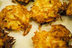 Celery Root Latkes...yummmy...I love anything FRIED!
