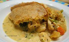 Gourmet Girl Cooks: Chicken Pot Pie w/ Cheddar Herb Crust -- Will You Be My Valentine?