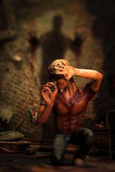 """A Madman's Tale"" (Outtake); Diorama angelehnt an den Roman ""The Madman's Tale"" von John Katzenbach #johnkatzenbach #Schizophrenie #themadmanstale"