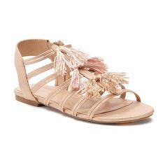 LC Lauren Conrad tassel sandals