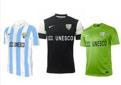 equipación del málaga cf - La enciclopedia del Málaga CF en losboquerones.com
