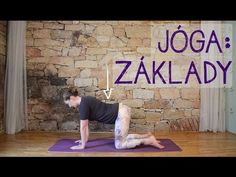 ZÁKLADY JÓGY pro začátečníky - YouTube Yoga Gym, Keeping Healthy, Yoga Videos, Tabata, Back Pain, Reiki, Pilates, Health Fitness, Exercise