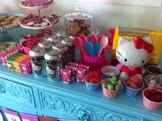 Hello Kitty party, girls party