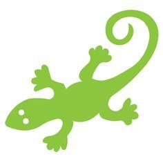 Gecko- Large; IMC Die Cut #286