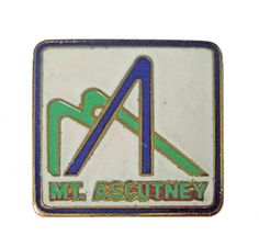 """MT ASCUTNEY VERMONT vintage enamel pin lapel ski vt snowboard snow mountain resort hiking trails by VintageTrafficUSA  24.00 USD  A vintage Mt Ascutney VERMONT pin! Excellent condition. Measures: approx 1"""" 20 years old hard to find vintage high-quality cloisonne lapel/pin. Beautiful die struck metal pin with colored enamel filling. Add inspiration to your handbag tie jacket backpack hat or wall. Have some individuality = some flair! -------------------------------------------- SECOND ITEM…"""