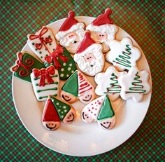 Double Christmas Elves (Heart Cookie Cutter)