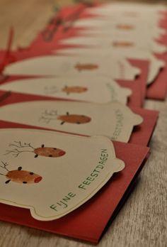 Onze kerstkaarten van dit jaar. Door Caroo