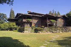 The Gamble House: View looking southeast, after the completion of the 2004 restoration