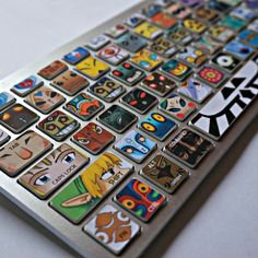 Have the world of Hyrule come together right in front of your eyes with these fantastic Legend of Zelda keyboard stickers. Turn your dull laptop into a work of art by easily applying these decals over existing keys to give your laptop a unique gamer look Minecraft Banner Designs, Minecraft Banners, The Legend Of Zelda, Keyboard Stickers, Keyboard Keys, Pc Gaming Setup, Gamer Room, Take My Money, Breath Of The Wild