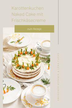 """Für die """"Süßen"""" unter euch wartet natürlich auch noch der passende Karottenkuchen in der Naked Cake Variante von @MeinLeckeresLeben auf unserer Website ☺️ Wir wünschen euch ganz viel Spaß beim Nachbacken und Ausprobieren 😍 #gmundnerkeramik #handgefertigt #handmade #madeinaustria #purgeflammtgelb #ostern #frühjahr #easter #spring #rezept #rezeptidee #rezeptinspo Creme, Easter Activities, Handmade, Recipies"""
