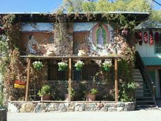 El Paragua Restaurant, Espanola, New Mexico. I never pass this place up to get my Carne Adovada (and Dos XX) fix.
