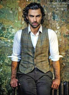 "I wrote Kieran O'Connell before I ever saw PBS' POLDARK. But as soon as I saw Ross Poldark (played by Aidan Turner) I thought to myself ""That's Kieran! Aidan Turner Poldark, Ross Poldark, Poldark Series, Poldark Actors, Poldark Cast, Gorgeous Men, Beautiful People, Pretty People, Bandeau Outfit"
