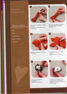 Revista Muñecos y juguetes en tela