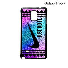 059896c728f7 Amazon.com  Nike Just Do It Aztec Rainbow Galaxy Note 4 Case (Black)  Cell  Phones   Accessories