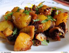 Vegetable Recipes, Food Inspiration, Potato Salad, Food Porn, Food And Drink, Potatoes, Healthy Recipes, Treats, Vegetables