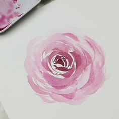 Watercolor Art Lessons, Watercolor Painting Techniques, Artist Painting, Watercolor Paintings, Watercolor Plants, Watercolor Cards, Abstract Watercolor, Kids Art Galleries, Watercolor Flowers Tutorial