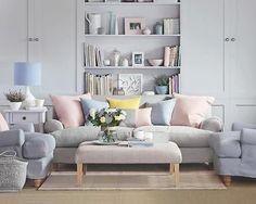 décoration salon tons neutres et pastel