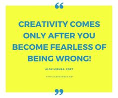A thought on #creativity by @PoetAlok_Mishra you can submit your own #poems and #stories or #research articles to us