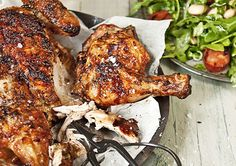Try this festive BBQ Chicken with Chorizo and Bean Salad this Christmas!
