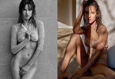 "Alessandra Ambrosio NAGO w ""Narcisse Magazine"""
