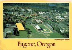 The University is located in Eugene, Oregon. Title: University Of Oregon Campus. City/State: Eugene,OR (Oregon). Categories: US State & Town Views/Oregon/Eugene. Salem Oregon, Eugene Oregon, Photo Postcards, Vintage Postcards, University Of Oregon, U.s. States, City State, Oregon Ducks, Lake View