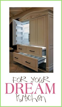 Love this piece of furniture...I mean refrigerator-check it out!