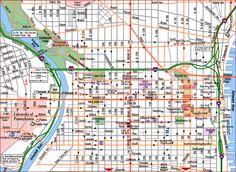 Philadelphia Map - http://holidaymapq.com/philadelphia-map-2.html
