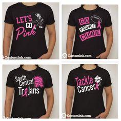 breast cancer awareness design ideas for cheer 2013 - Cheer Shirt Design Ideas