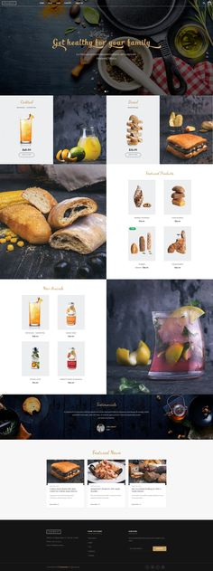 Ri Everest is a fully Responsive Wordpress Woocommerce Theme that is extremely… Best Restaurant Websites, Restaurant Website Design, Website Design Company, Page Design, Layout Design, Food Web Design, Website Layout, Interactive Design, Web Design Inspiration