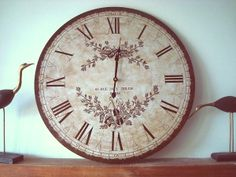 """Grande horloge """"Rue de l'église"""""""