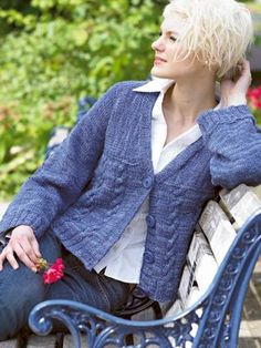 Cute....FREE Cardigan Pattern