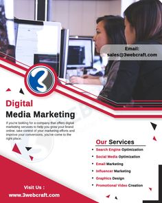 A digital agency that creates experiences that connect, marketing that makes and brand that inspires. Digital Media Marketing, Digital Marketing Services, Online Email, Seo