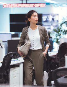 Ol Fashion, Office Fashion, Business Fashion, Fashion Pants, Business Casual, Spring Fashion, Office Outfits, Casual Outfits, Smart Casual