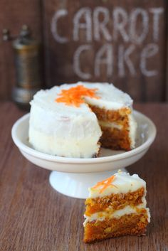 Healthier Carrot Cake!!! yes please!