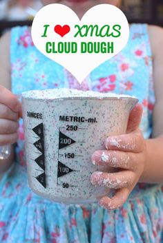 Christmas Cloud Dough