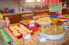 "Photo 9 of 29: Sesame Street, Elmo / Birthday ""Easton's 2nd Elmo Birthday Party"" | Catch My Party"