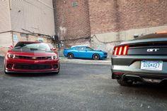 2015 Ford Mustang vs Chevrolet Camaro vs Dodge Challenger