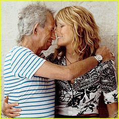 Keith Richards & Patti Hansen: Family Portrait for 'Vogue'!