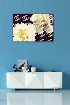 Oliver Gal Coco's Camellia Vanilla Fine Art Canvas on HauteLook
