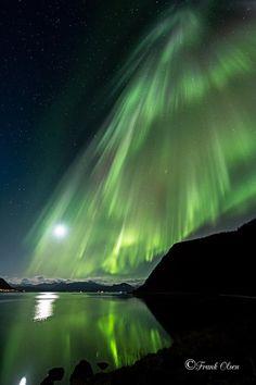 Aurora Waterfall by Frank Olsen
