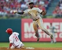 Josh Harrison, Pittsburgh Pirates, 6/27/2012