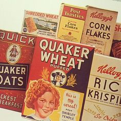1930s food boxes - Google Search