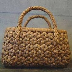 d0b51214883d Resultado de imagem para エコクラフト、石畳編み,作り方. LUKE · 山葡萄