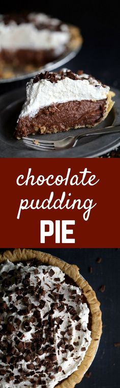 A homemade silky smooth chocolate pudding becomes the filling for the most…