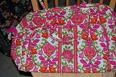 NEW WITH TAGS VERA BRADLEY LILLI BELL  WEEKENDER