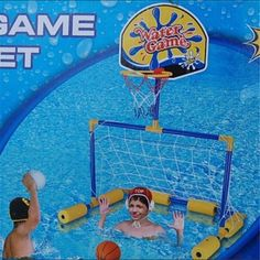 #Swimming pool football #basketball toys outdoor 2 in 1 kids set #water game nlq0,  View more on the LINK: 	http://www.zeppy.io/product/gb/2/201601440607/