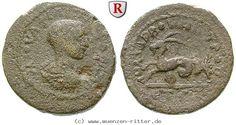 RITTER Kilikien, Anazarbos, Philippus II., Triassarion, Capricorn #coins