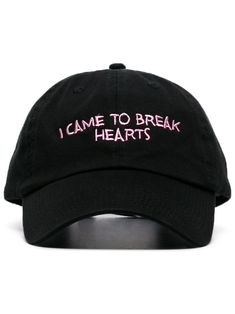 cd46ad491fe5 NASASEASONS NASASEASONS BLACK I CAME TO BREAK HEARTS EMBROIDERED WOOL BLEND  HAT.  nasaseasons